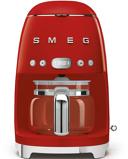 Afbeelding vanSmeg DCF02RDEU Filter Koffiezetapparaat Rood