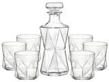Afbeelding vanBormioli Rocco whisky set Cassiopea 7 delig