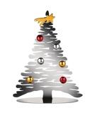 Afbeelding vanAlessi Kerstboom Bark Zilver BM06/30 Door Michel Boucquillon & Donia Maaoui