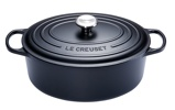 Afbeelding vanLe Creuset Signature Ovale Braad/Stoofpan 31 cm Zwart
