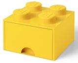 Afbeelding vanLEGO® Opbergbox met Lade Geel 25 x 18 cm