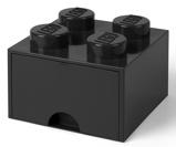 Afbeelding vanLEGO® Opbergbox met Lade Zwart 25 x 18 cm
