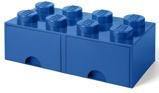 Afbeelding vanLEGO® Opbergbox met Lades Blauw 50 x 25 18 cm