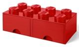 Afbeelding vanLEGO® Opbergbox met Lades Rood 50 x 25 18 cm