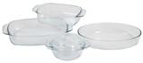 Afbeelding vanCosy & Trendy 500 Ovenschalen Set 4 delig Transparant