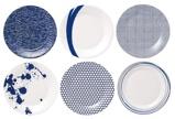 Afbeelding vanRoyal Doulton Pacific Ontbijtbord 23 cm 6 st. Blauw