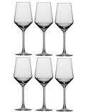 Afbeelding vanSchott Zwiesel Pure Wijnglazen Sauvignon Blanc 0,41 L 6 st. Transparant