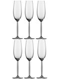 Afbeelding vanSchott Zwiesel Diva Champagne Flûte 0,22 L 6 st. Transparant
