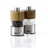 Immagine diAdHoc Mini Pepper & Salt Mill Set Acacia David Set of 2