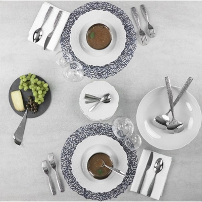 Image of Alessi 24 Piece Cutlery Set Dressed