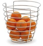Afbeelding vanBlomus Wires Fruitmand 25 cm Zilver