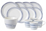 Afbeelding vanRoyal Doulton serviesset Pacific Lines (16 delig)