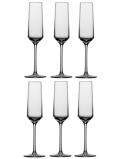 Afbeelding vanSchott Zwiesel Pure Champagneglazen 0,21 L 6 st. Transparant