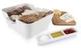 Afbeelding vanTomorrow's Kitchen Serveerschaal Bread & Dip Wit