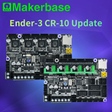 Εικόνα τουMakerbase Mks Robin E3 E3D 32Bit Control Board 3D Printer Parts With Tmc2209 Uart Mode Driver For Creality Ender 3 Cr 10