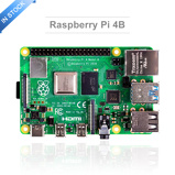 Image ofLatest Raspberry Pi 4 Model B with 2/4/8GB RAM raspberry pi 4 BCM2711 Quad core Cortex-A72 ARM v8 1.5GHz Speeder Than Pi 3B