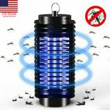 Εικόνα τουUS Electric UV Mosquito Killer Lamp Outdoor / Indoor Fly Bug Insect Zapper Trap