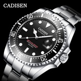 Image ofCADISEN Japan Mechanical Movement Watch Men 100M Waterproof Top Brand Automatic Watch Ceramics Business Sport Relogio Masculino