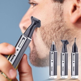 Imagem de4 in 1 Rechargeable Men Electric Nose Ear Hair Trimmer Painless Women trimming sideburns eyebrows Beard hair clipper cut Shaver