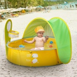 Imagem deChildren Swimming Pool Kids Portable Ball Pool Tent Sunshelter Infant Play Water Outdoor Bathtub Mini Round Baby Swimming Pool