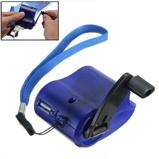 Εικόνα του1PC USB Phone Emergency Charger For Camping Hiking EDC Outdoor Sports Hand Crank Travel Charger Camping Equipment Survival Tools