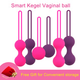 Image ofSafe Kegel Ball Smart Ben Wa Ball Geisha Balls Silicone Vaginal Chinese Balls For Woman Intimate Sex Toys Pussy Tighten Machine