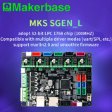 Image ofMakerbase 32-Bit MKS SGen_L Smoothieware and Marlin 2.0 control board approval TMC2208 and TMC2209 uart mode TMC2130 spi mode