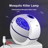 Εικόνα του2020 USB Powered Mosquito Killer Lamp 1m/2m Electric No Noise 360 Insect Killer Bug Zapper Mosquito Trap Light For Bedroom Home