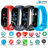 Image ofMen Smart Sports watch blood pressure heart rate monitor message reminder bluetooth waterproof men and women bracelet kids wrist