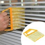 Εικόνα του1PC Useful Microfiber Window Cleaning Brush Blind Brush Air Conditioner Duster Cleaner With Venetian Blind Cleaning
