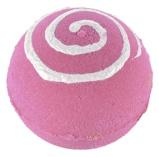 Afbeelding vanTreets Bath Ball Pink Swirl, 1 stuks