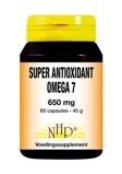 Afbeelding vanNHP Super antioxidant omega 7 650 mg (60 capsules)