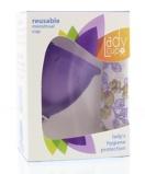 Afbeelding vanLadycup Menstruatie Cup Lilac Maat L, 1 stuks
