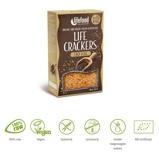 Afbeelding vanLifefood Life crackers chia lijnzaad (80 gram)