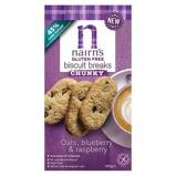 Afbeelding vanNairns Breakfast biscuit blueberry & raspberry (160 gram)