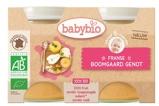Afbeelding vanBabybio Dessert Fruitlekkernij 130 gram, 2x130 gram