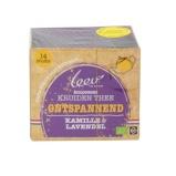 Afbeelding vanLeev Bio thee ontspanned kamille & lavendel (14 zakjes)