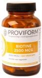 Afbeelding vanProviform Biotine 2500 Mcg, 100 Veg. capsules