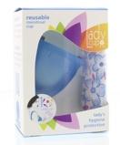 Afbeelding vanLadycup Menstruatie Cup Blue Maat L (1st)