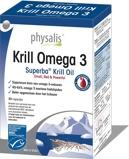 Afbeelding vanPhysalis Krill omega 3 (30 capsules)
