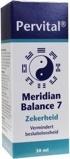 Afbeelding vanPervital Meridian balance 7 zekerheid (30 ml)