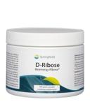 Afbeelding vanSpringfield D Ribose bioenergy poeder (200 gram)