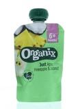 Afbeelding vanOrganix Just apple pineapple coconut 6 36 maanden (100 gram)
