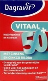 Afbeelding vanDagravit Totaal 30 Vitaal 50+ 100 tabletten