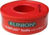 Afbeelding vanKliniplast Hechtpleister 5 X 1.25 M met Ring, 1 stuks