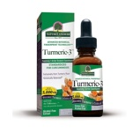 Afbeelding vanNatures Answer Turmeric 3 Curcuma extract 1:1 alcvrij 15.000 mg (30 ml)