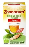 Afbeelding vanZonnatura Groene thee ginseng bio (20 zakjes)