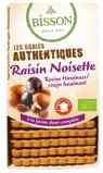Afbeelding vanBisson Biscuits hazelnoot rozijn (175 gram)