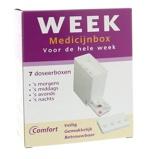 Afbeelding vanComfort Medicijnbox 7 Dagen Incl Dagverdeling, 1 stuks