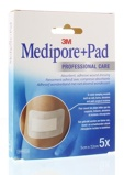 Afbeelding van3m Medipore 5 X 7.2 Cm Zelfklevend Wonderband, stuks